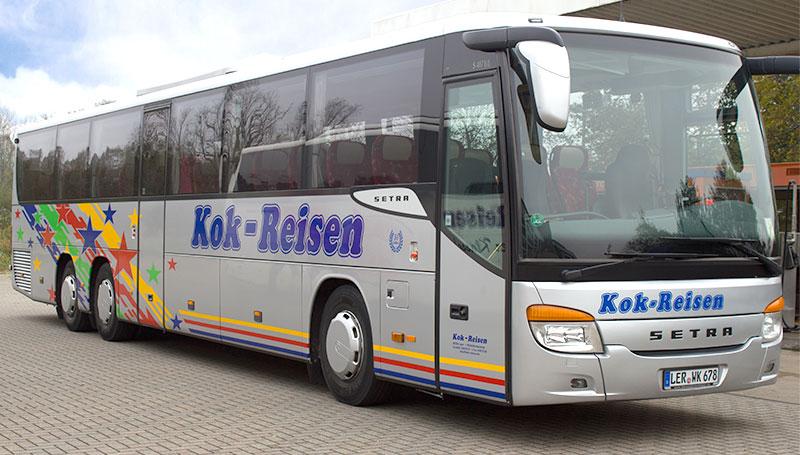 Reisebus von Kok Reisen